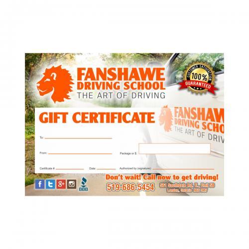 Fanshawe-certificates
