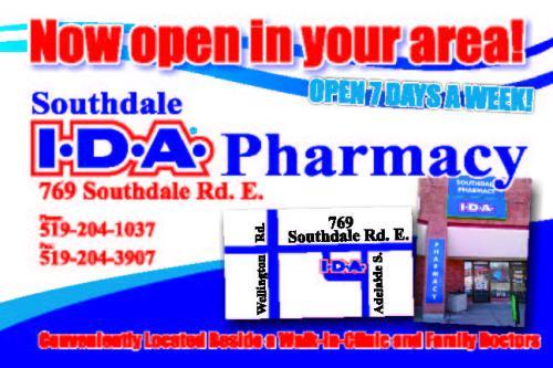 IDA Pharmacy - Postcards Page 1