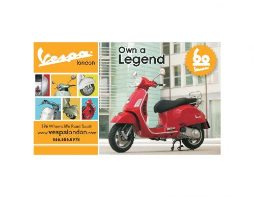 Vespa - Yellow Pages Ad - Oct..