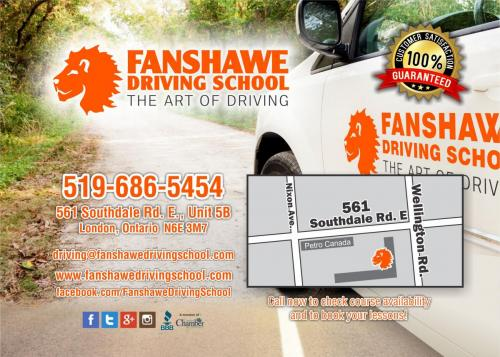 Fanshawe 5 x 7 - package postcard